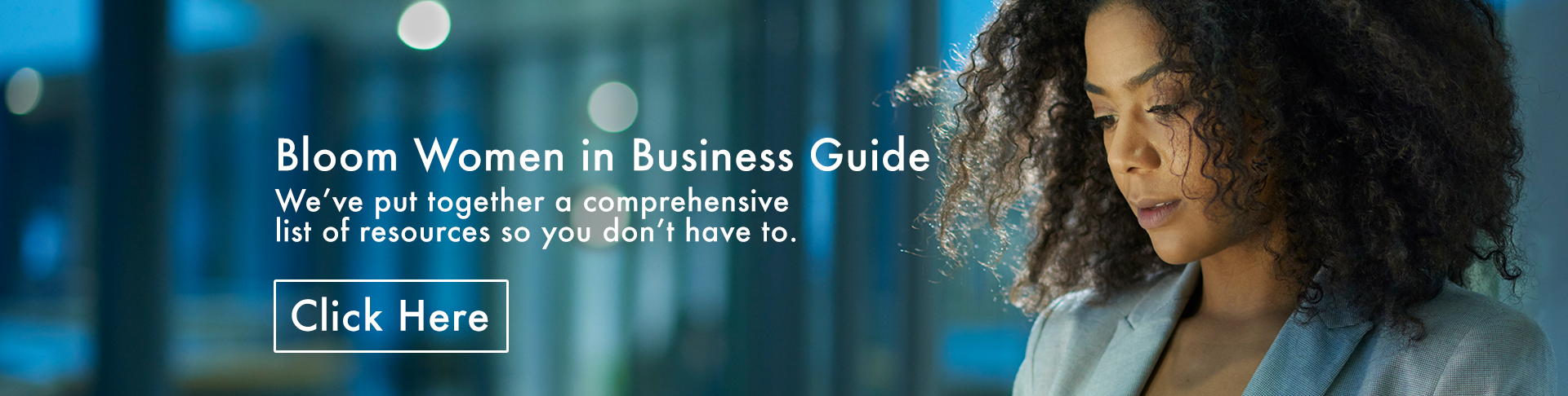 Bloom Woman in Business Guide